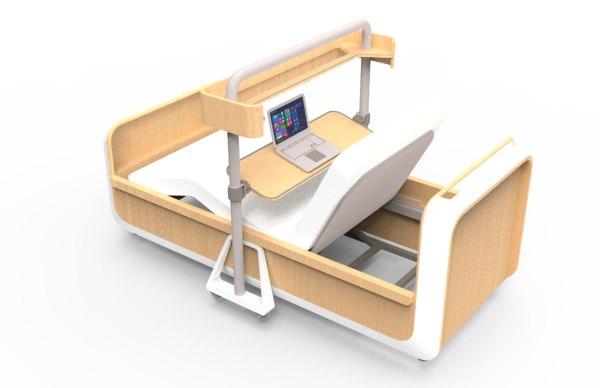 3D design bed