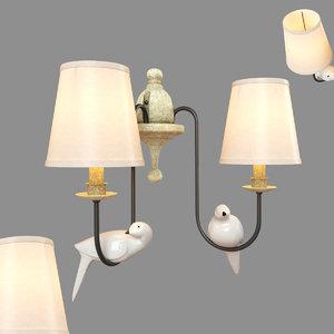 loft birds loft1029w-2 3D model