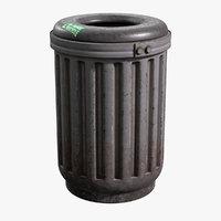 trash 1 3D model