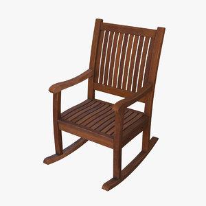 chair rockingchair 3D