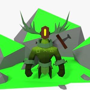 forest keeper 3D