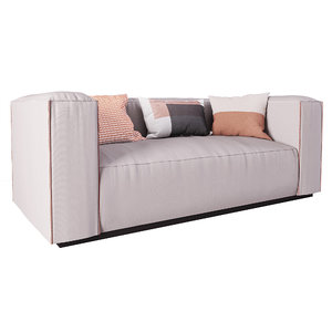 cleon sofa blu dot 3D