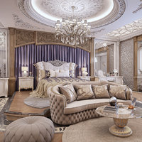 luxury bedroom 3D model