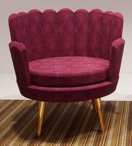 modern chair shell style model