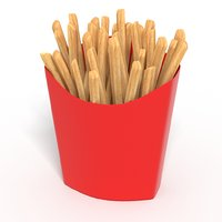 French Fries Hot chips Food Pack