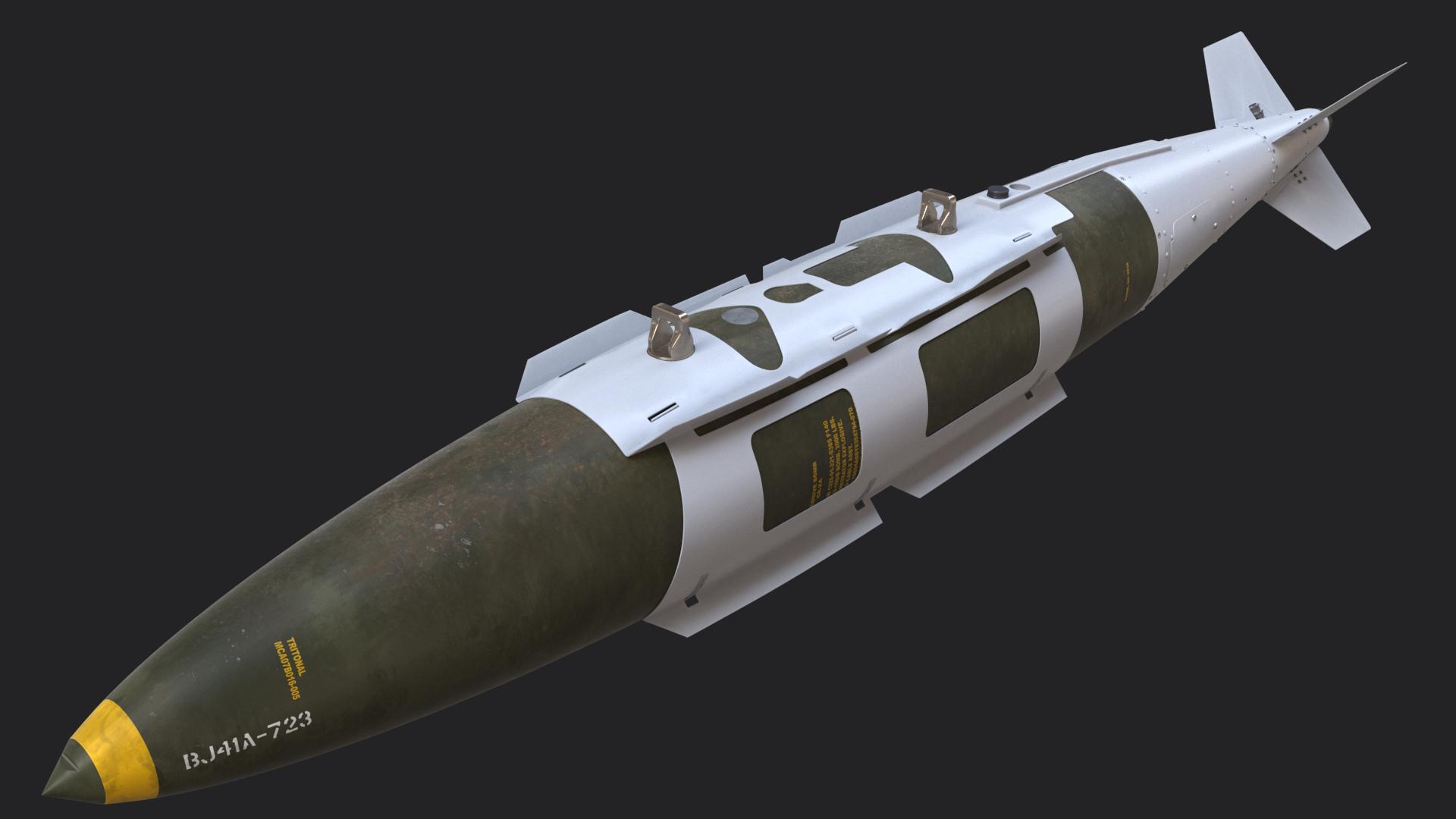 3D gbu-31 v jdam mk-84 - TurboSquid 1469736