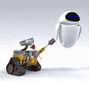 wall-e robot model