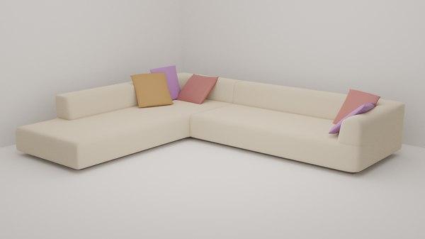 3D sofa room interior