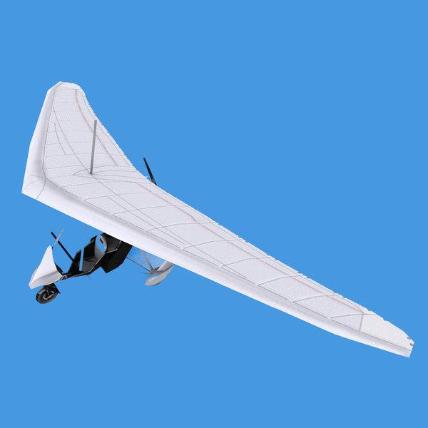 3D air creation ultralight trike