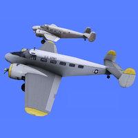 Beechcraft Model 18 - 2 Liveries
