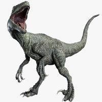 Velociraptor (Rigged)