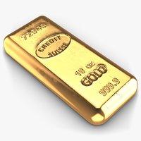 obj gold bar small 2