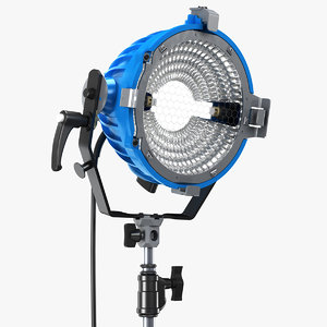 3D arri arrilite 2000 lights