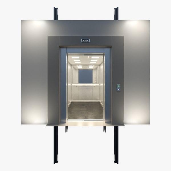 3D model elevator