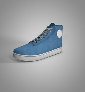 3D shoe sneaker model