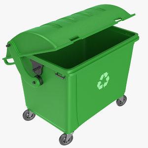 trash dumpster 3D