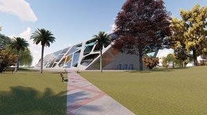 3D revit university