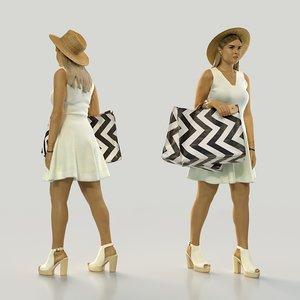 scan woman 10 3D model