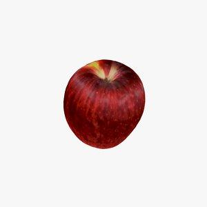 gala apple 3D model