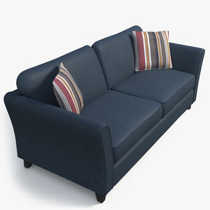 sofa couch furniture 3D model