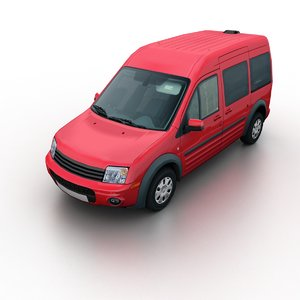 van traffic games 3d model