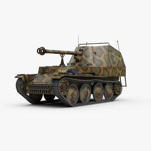 ww2 german marder 3 3D model