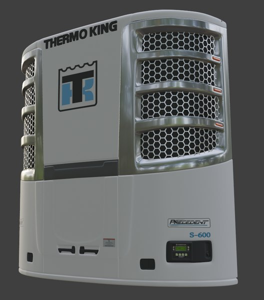 thermoking unit trailer 3D model