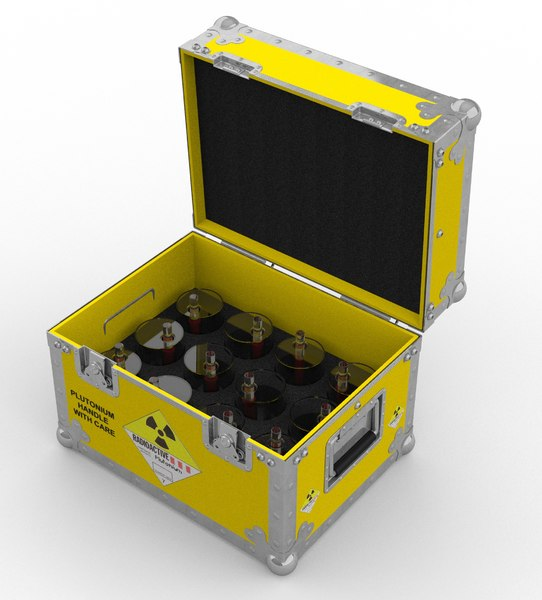 plutonium case seen future 3D model
