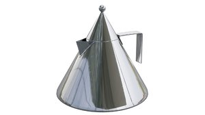 alessi kettle 3D