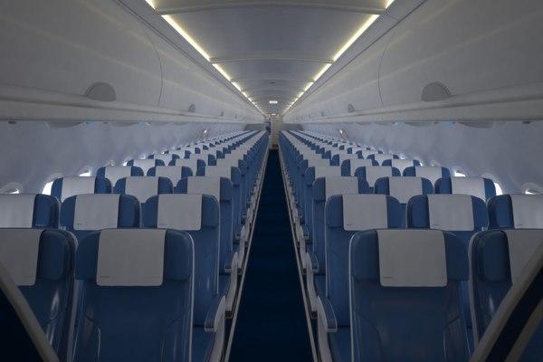 airbus 320 3D model