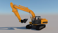 Full Rigged Excavator