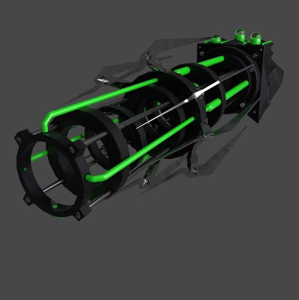 3D biological gun