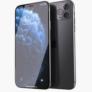 3D iphone apple phone