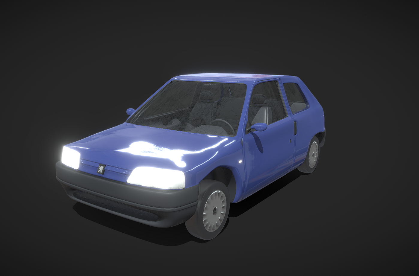 3D peugeot 106 1996