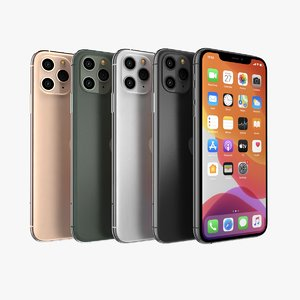 apple iphone 11 3D