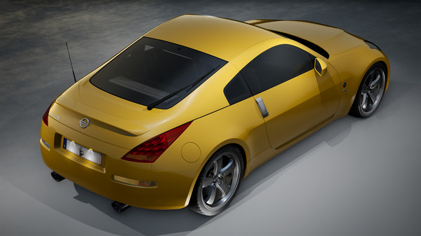 nissan 350z car 3D model