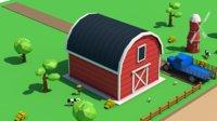 Low Poly Farm Barn