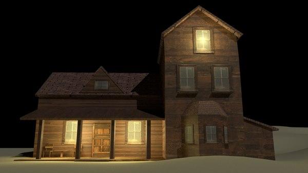 medieval house 3D