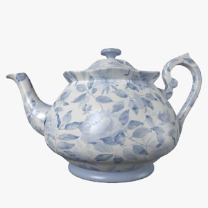 3D tea pot model