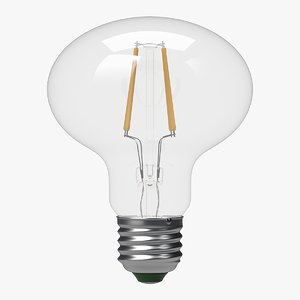 3d 3ds led filament bulb lights
