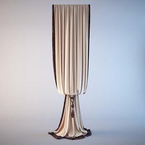 3D curtain classic model
