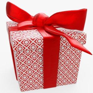 present package 3D model