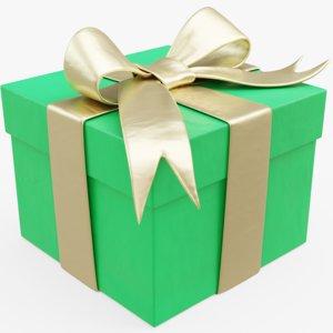 3D model present package