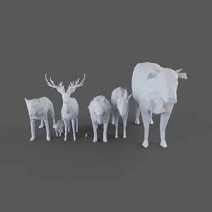 3D animals model