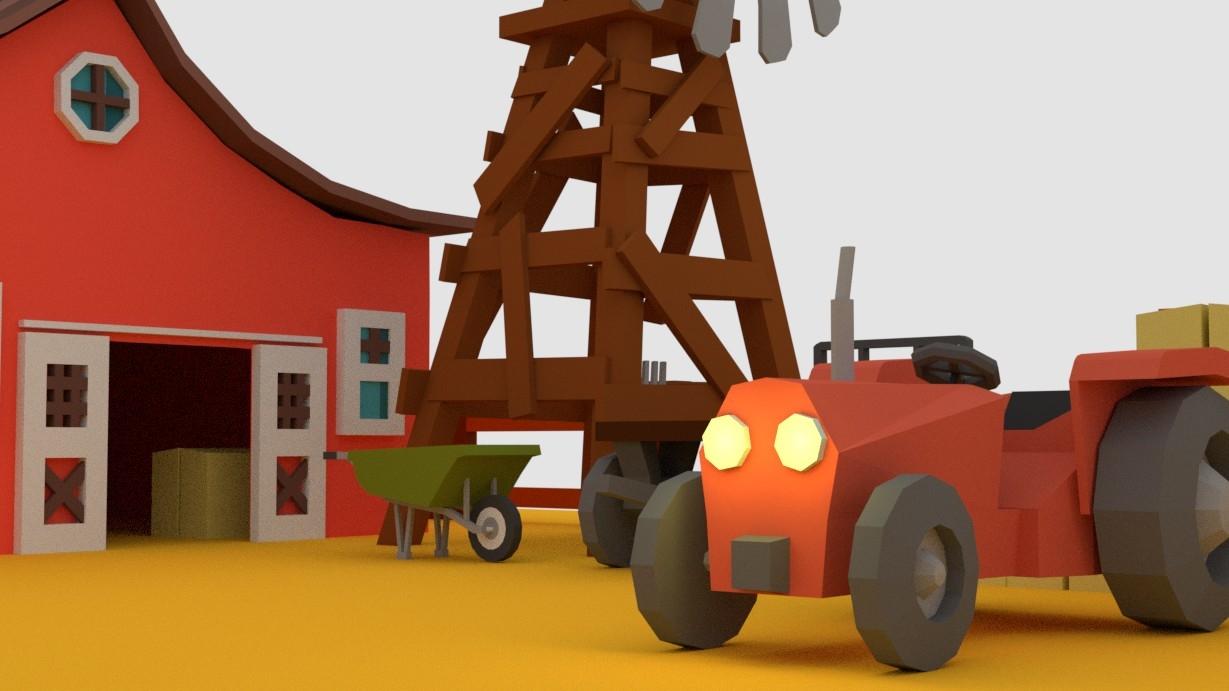 3D model farm pack