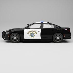 police car dodge model