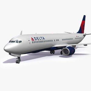 delta airlines airplane model
