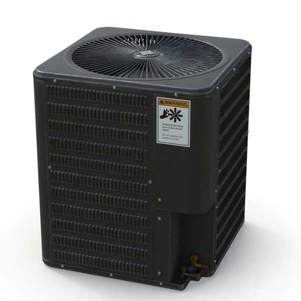 3D ac unit outdoor
