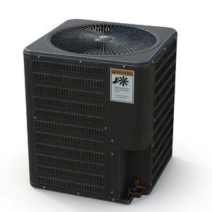 3D ac unit outdoor