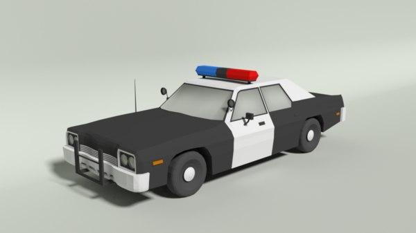dodge monaco police car model